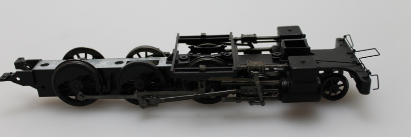 Chassis w/Wheels-Black (ON30 4-6-0)