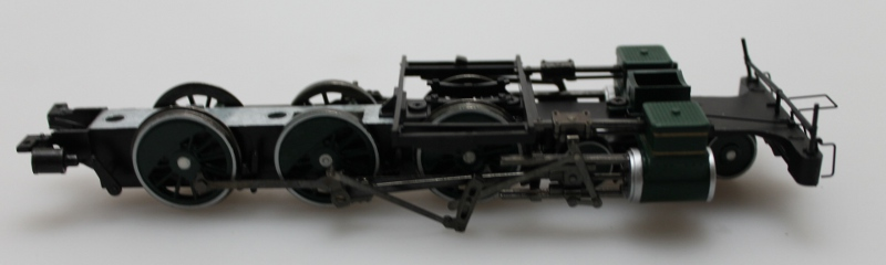 Chassis w/Wheels-Green (ON30 4-6-0)