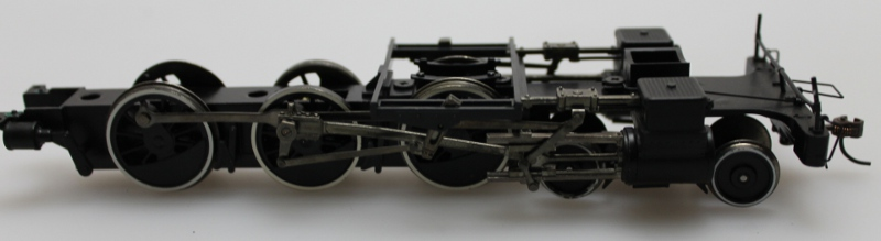 Chassis w/Wheels- White Trim (ON30 4-6-0)