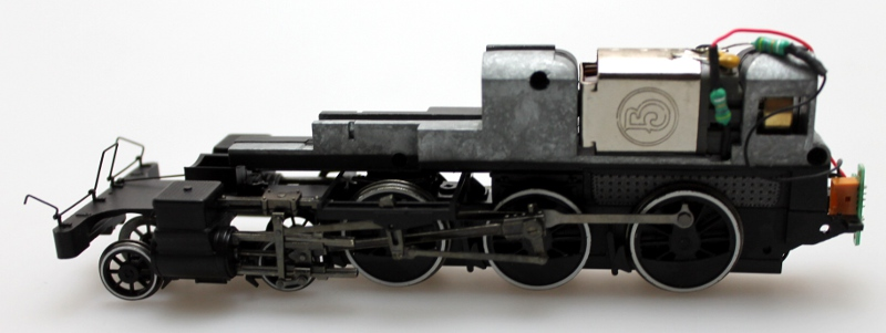 Complete Loco Chassis (ON30 4-6-0)