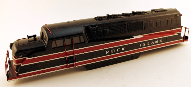 Body Shell - Rock Island #426 (O Scale BL-2)