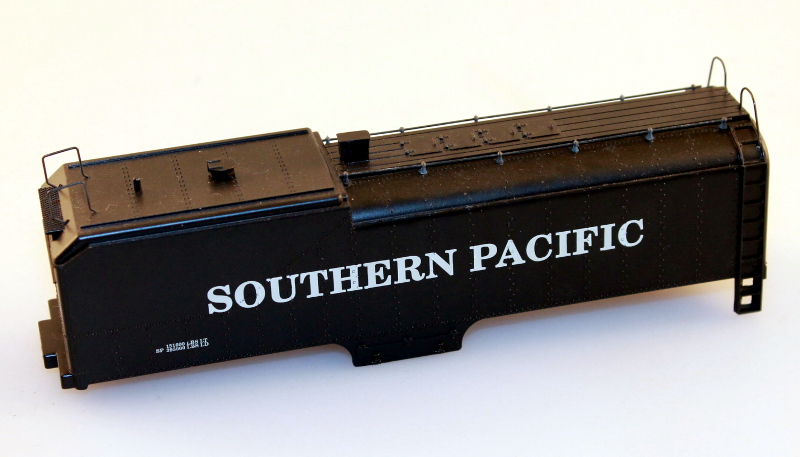 Tender Shell - Southern Pacific Black (HO GS4 4-8-4)