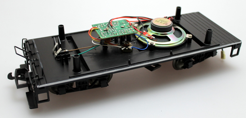 Tender Chassis W/ PCB & Speaker (Large 4-6-0)