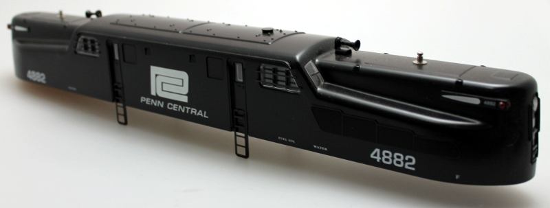 Shell - Penn Central #4882 (O GG-1 Scale)