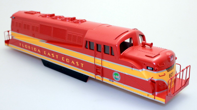 Body Shell - Florida East Coast #601 (O Scale BL-2)