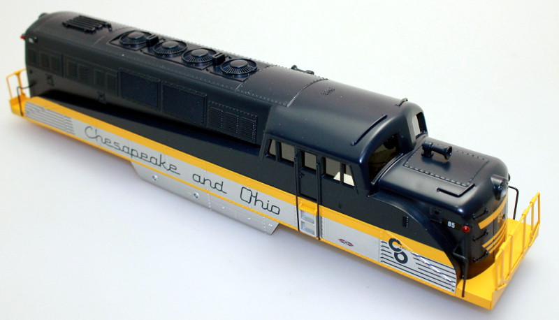 Body Shell - Chesapeake & Ohio #85 (O Scale BL-2)