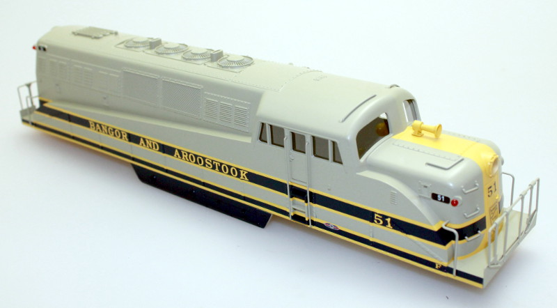 Body Shell - Bangor&Aroostook #51 (O Scale BL-2)