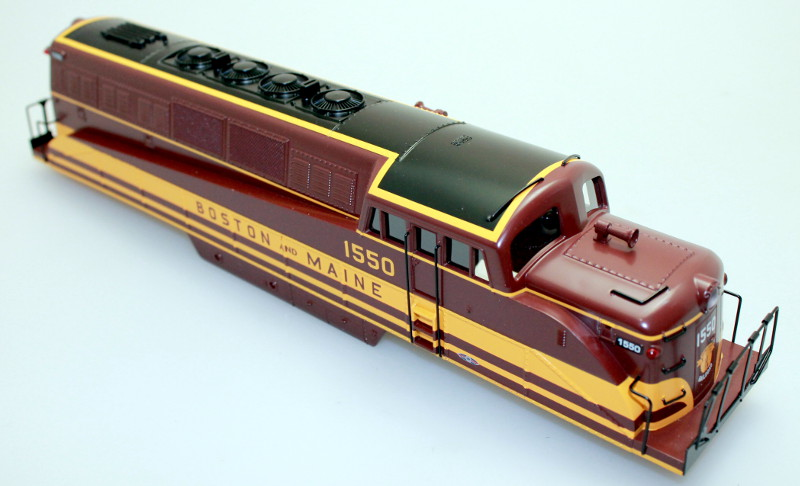 Body Shell - Boston & Maine #1550 (O Scale BL-2)