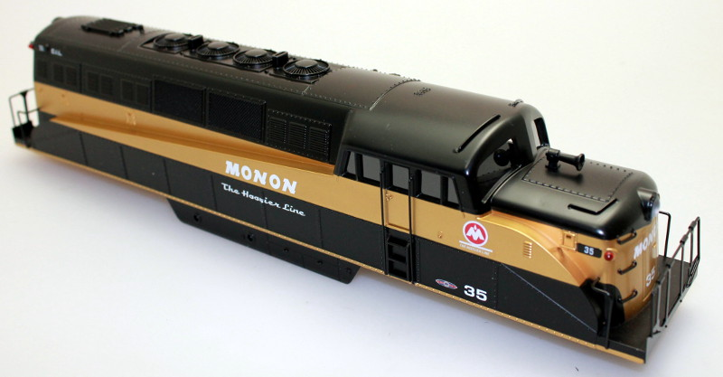 Body Shell - Monon #35 (O Scale BL-2)