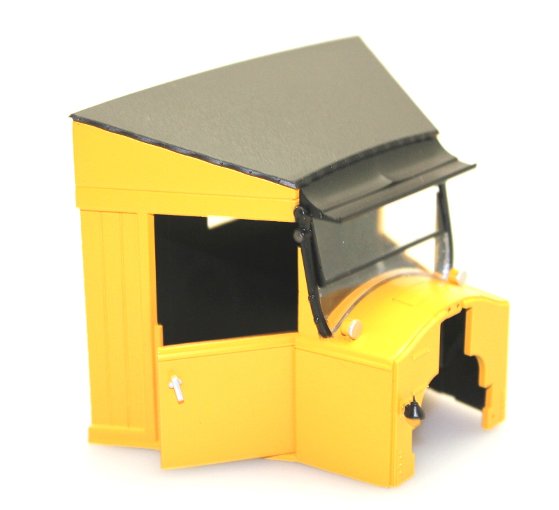 Cab Shell - Yellow & Black (Large Railtruck)