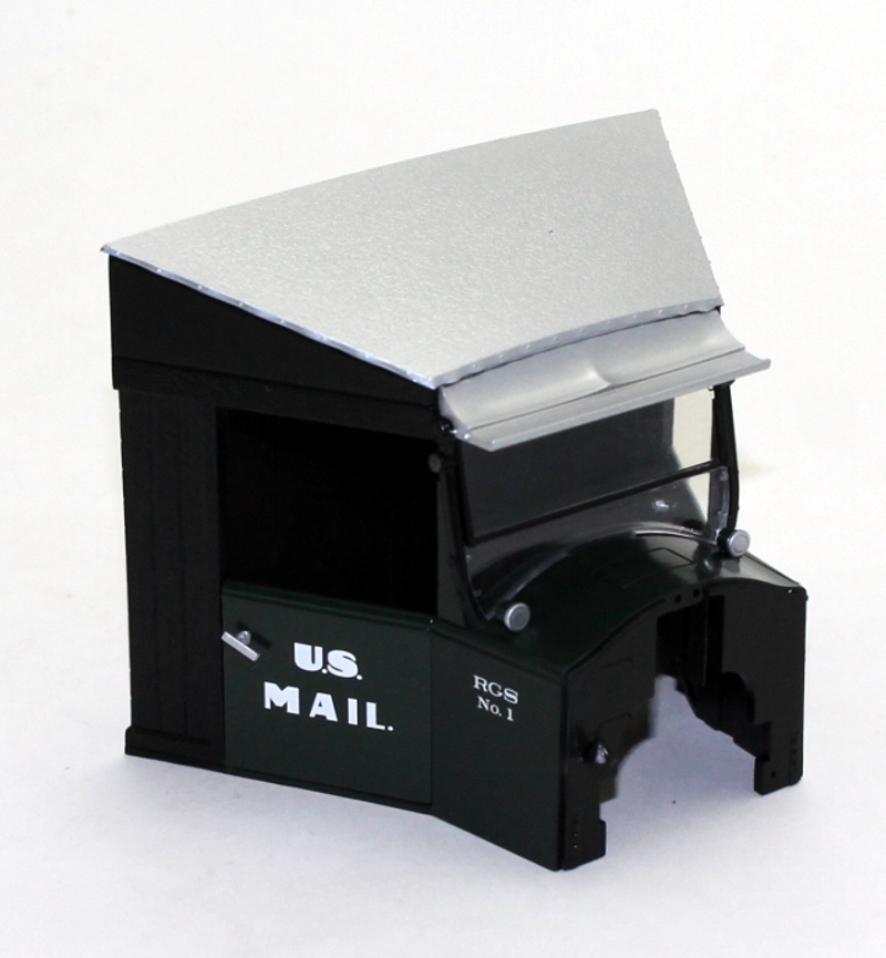 Cab Shell - RGS #1 U.S. Mail (Large Rail Truck)