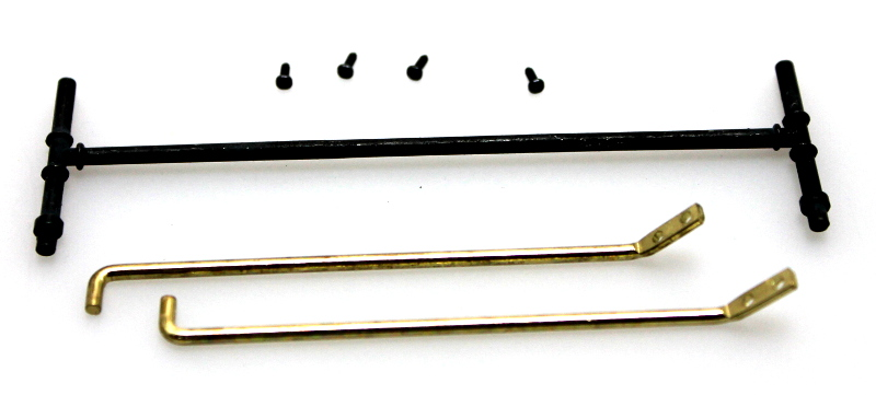 Pilot Rails &Johnson Bar, Gold & Black (G 4-6-0 Anniversary)