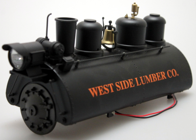 Boiler - West Side Lumber (Large 0-4-0 Saddle Tank)