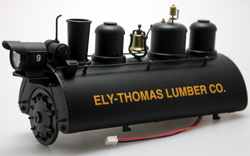 Boiler - Ely Thomas Lumber (Large 0-4-0 Saddle Tank)