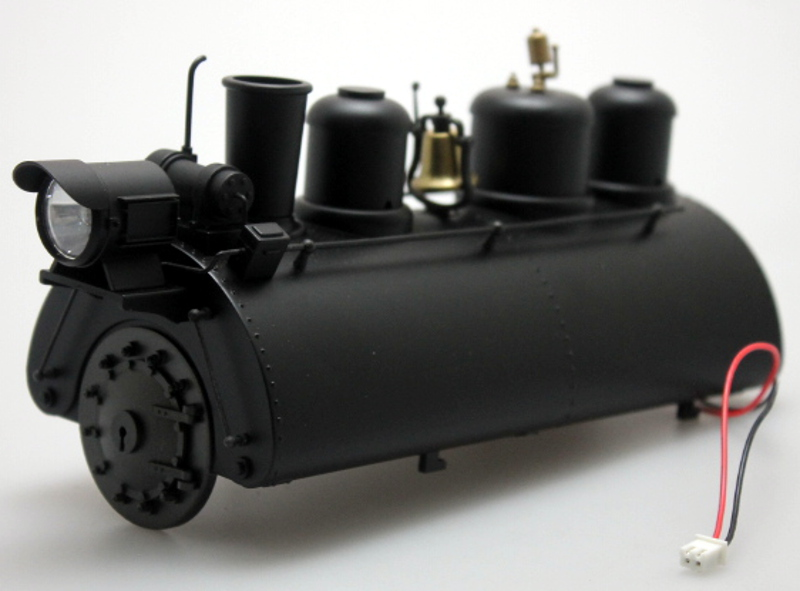 Boiler - Black (Large 0-4-0 Saddle Tank)