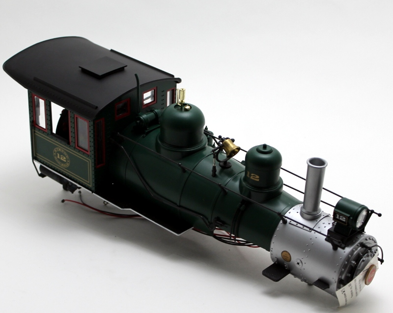 Loco Shell - ET & WNC #12 (G Scale 4-6-0 Anniversary)