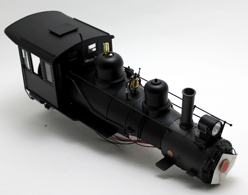 Loco Shell - Painted, Unlettered (G Scale 4-6-0 Anniversary)