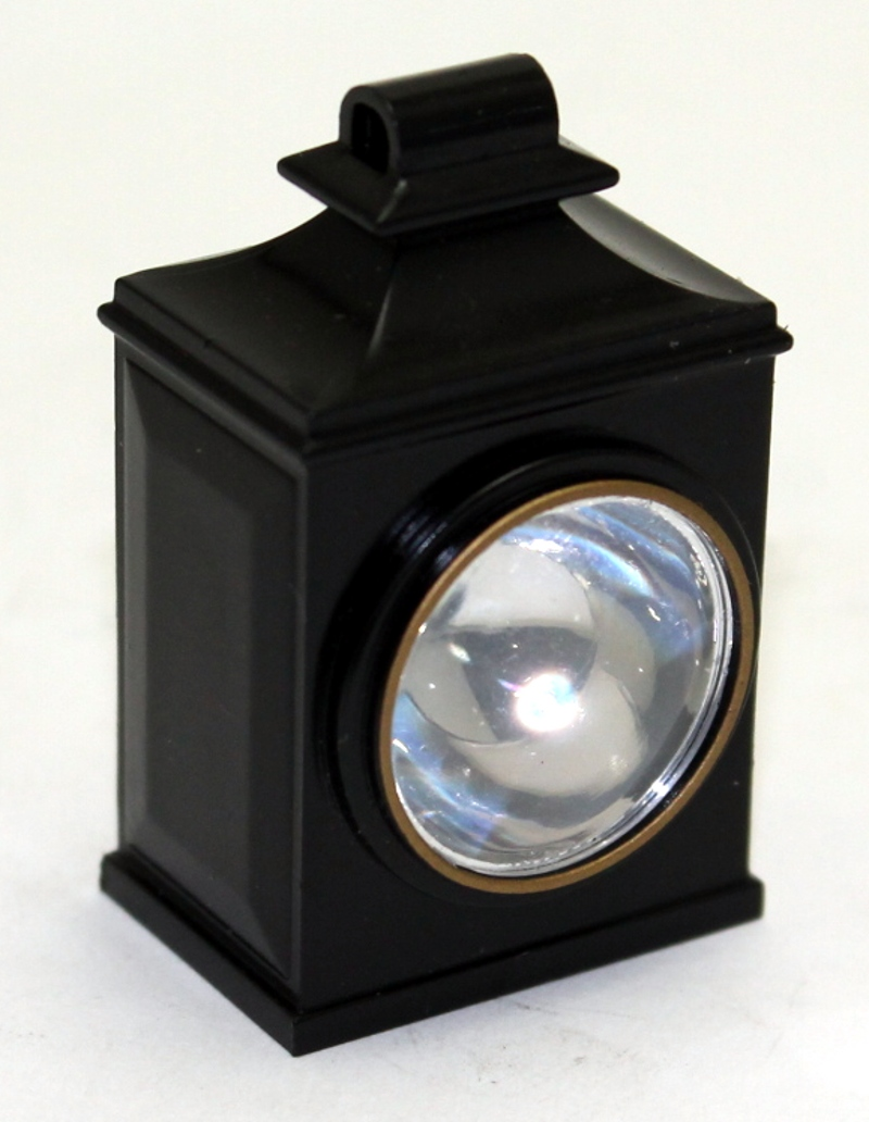 Headlight - Black (Large-4-4-0)