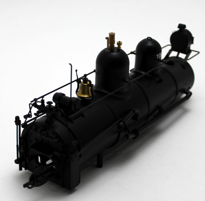 BOILER SHELL (Large Scale 55 Ton Shay)