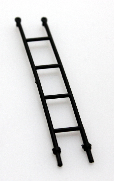 Ladder - Black (G Rolling Stock - Cabooses)