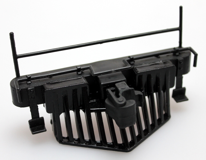 Cowcatcher w/Rails - Black (Large 4-6-0 Standard)