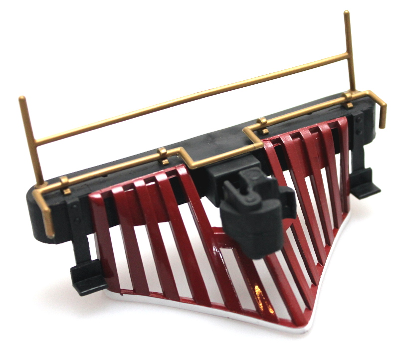 Cowcatcher w/Rails - RED (Large 4-6-0 Standard)