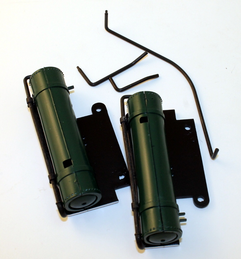 Air Tanks w/Rail - Green (Large 4-6-0 Anniversary)