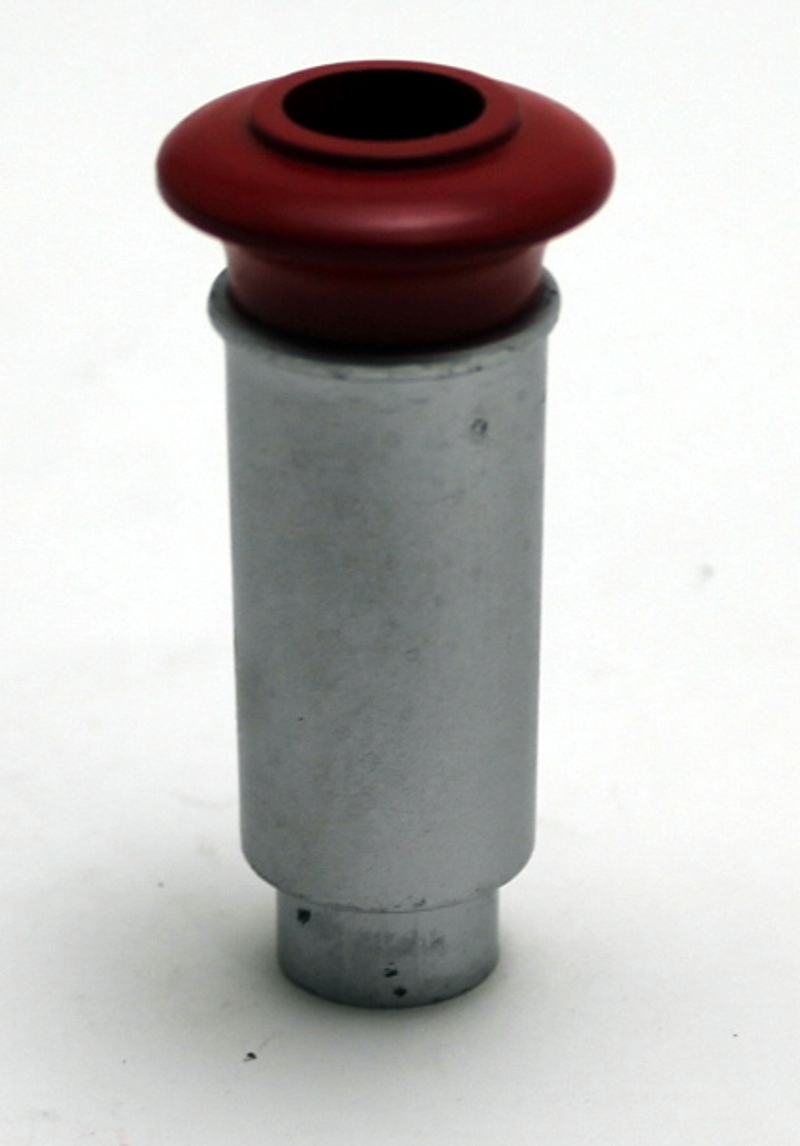 Smoke Stack - Stovepipe, Silver/Red (Large 4-6-0)