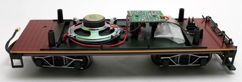 TENDER CHASSIS W/ PCB & SPEAKER (LARGE SCALE 4-6-0)