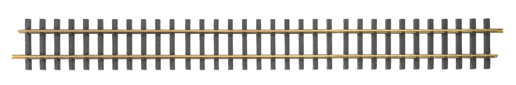 Brass Track 3' Straight (G Scale)