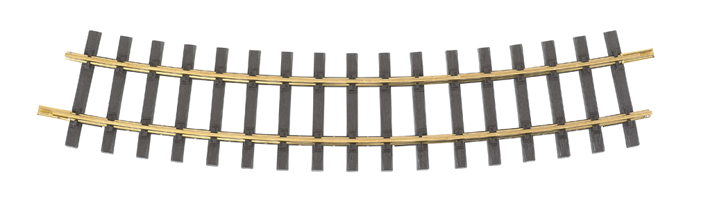 Brass Track 8' Curve (G Scale)