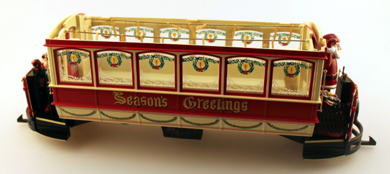 Shell w/o Roof - Christmas (G Scale Streetcars)