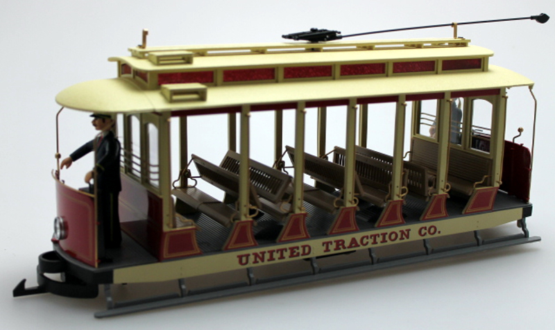 Shell w/Roof - Open United Traction, Red (G Streetcars)