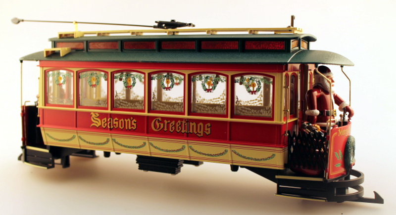 Shell w/Roof - Christmas (G Streetcars)