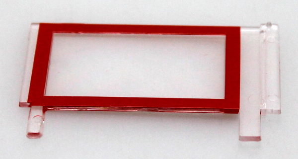 Window - Left, Red (G 2-Truck Climax)
