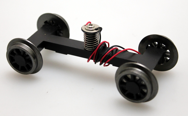 Pilot Truck with Spoke Wheel - Black (Large 4-6-0)