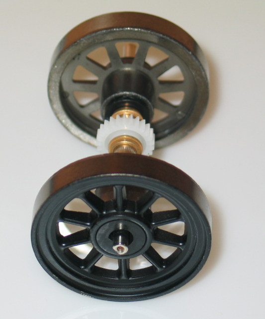 Geared Drive Wheel [2-8-0 Consolidation] - (Large Scale)