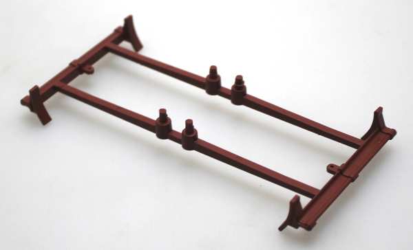 Truck Underframe - Red Brown (G Spectrum Rolling Stock)