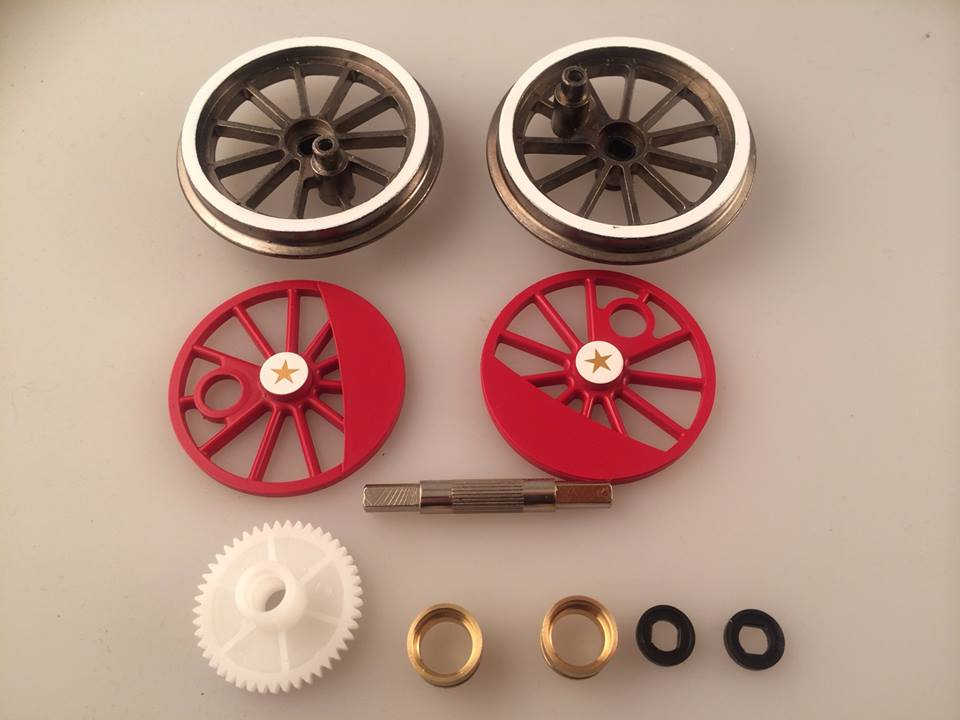 Wheel Set (Large 4-6-0)