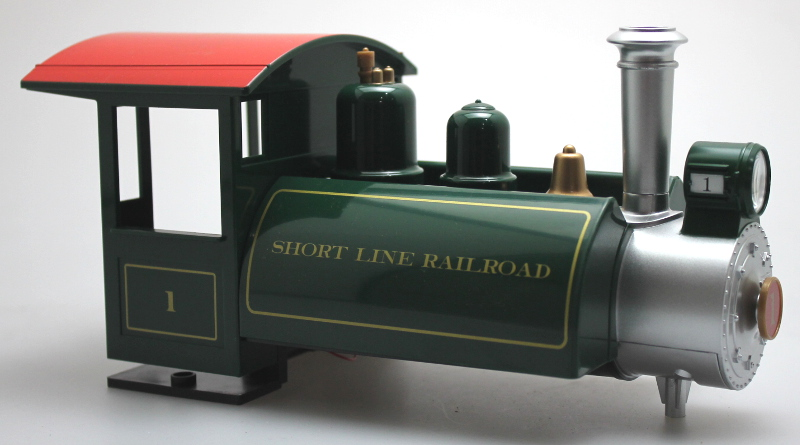 Loco Shell - Short Line #1, Green (Large Scale Lil Big Hauler)