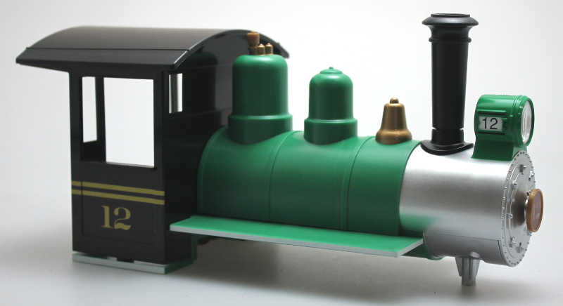 Loco Shell - Green & Black #12 (Large Scale Lil Big Hauler)