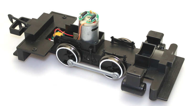 Loco Chassis - Black Wheels (Large Scale Lil Big Hauler)