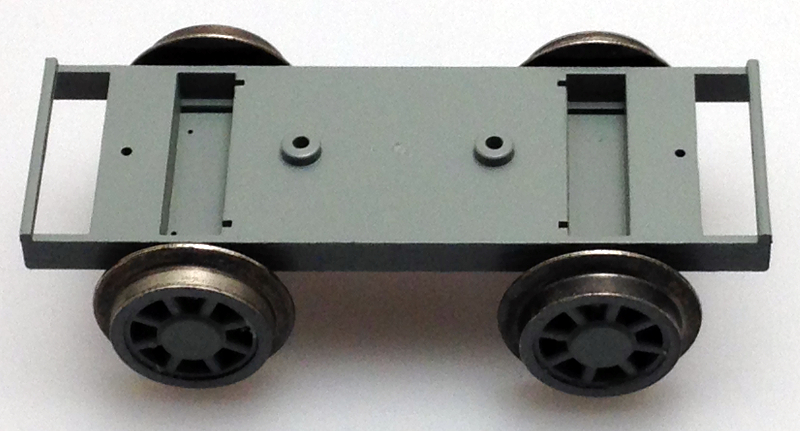 Car Underplate with Wheels (Large Scale Handcar)
