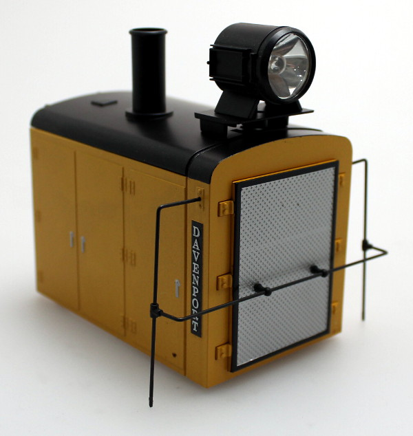 Shell - Yellow (Large Scale 0-4-0 Gas Mechanical)