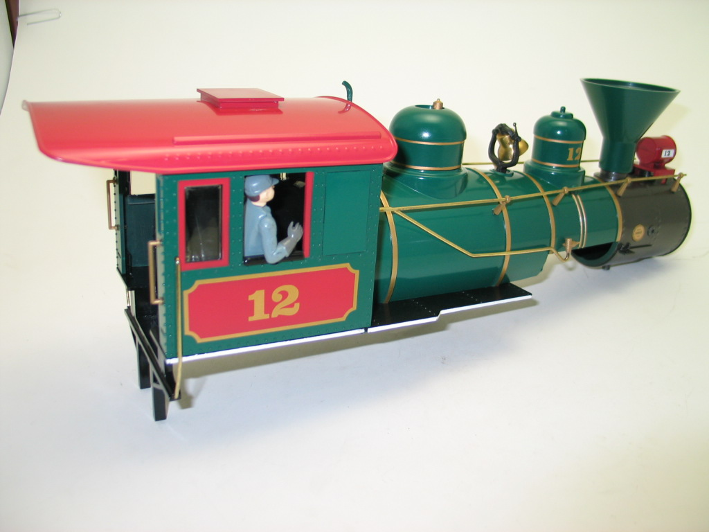 Loco Shell - North Pole Special (Large 4-6-0) - Click Image to Close