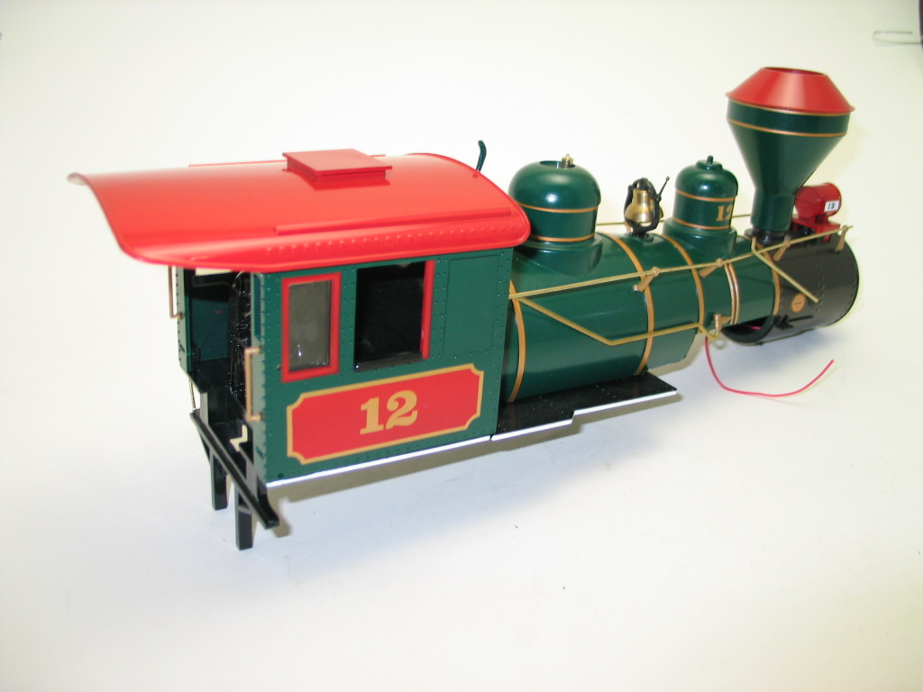 Loco Shell - Night Before Christmas (Large 4-6-0)