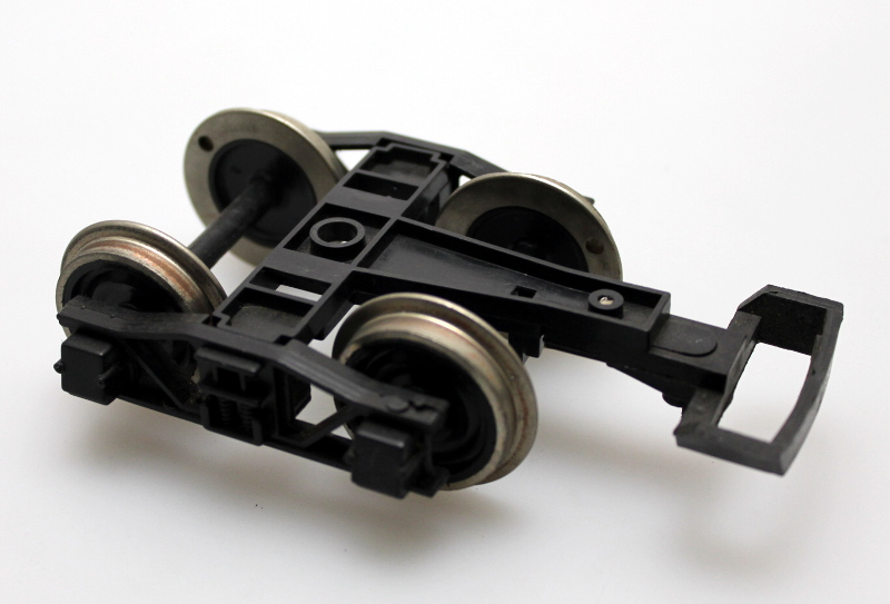 Tender Truck with Loop - Black Frame, Black Wheel (G 4-6-0)
