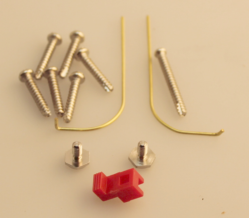 Screw Set & Rails - Gold (Large 4-6-0 Anniversary)