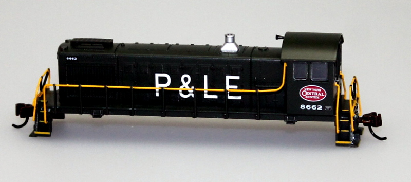 Shell - NYC System P&LE #8662 (N Scale S4)