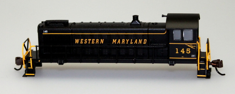 Shell - Western Maryland #145 (N Scale S4)